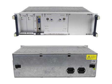 Vero LWL SAT IF Receiver SAT IF Receiver With Single Mode Fiber Fast Ethernet Media Conventer And 2x Vero Monovolt PK 30 Power Supply  Rails MC103XL 2X VERO 116-010215H R DEF0 (1)