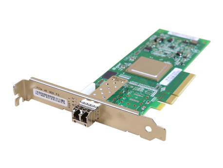 Network Cards 584776-001 1X 8G FP Qlogic QLE2560 PCIe x8 8Gb Single Port Fibre Channel with 1x 8Gb GBIC (1)
