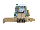 Network Cards 571521-002 2X 8G FP Brocade 825 PCIe x8 8Gb Dual Port Fibre Channel with 2x 8Gb GBICs (4)